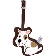 Jack Russell Luggage Tag