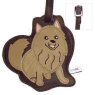 Pomeranian Luggage Tag
