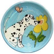 Dalmatian Dog Bowl