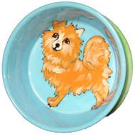 Pomeranian Dog Bowl