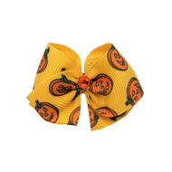 Pumpkin Dog Hair Bow