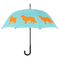 Border Collie Silhouette Umbrella