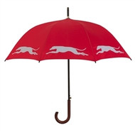 Greyhound Silhouette Umbrella