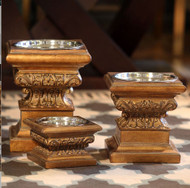 Adour Raised Dog Feeder Collection | Aged Gold