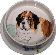 St.Bernard Dog Bowl