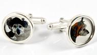 Sterling Silver Custom Cuff Links