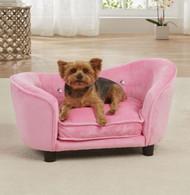 Ultra Plush Snuggle Bed | Pink