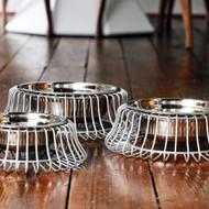 Castro Platinum Dog Bowl Collection