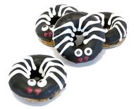 Creepy Spider Donut Dog Treats | 3 per order