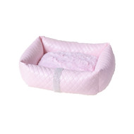 Lounge Bed | Liquid Lux Pink