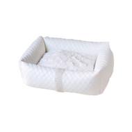 Lounge Bed | Liquid Lux White