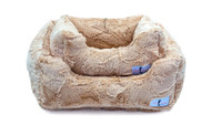 Lux Dog Bed | Sand