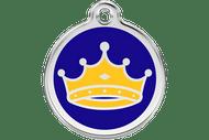 Enamel Dog ID Tag | King