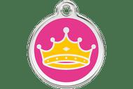 Enamel Dog ID Tag | Queen