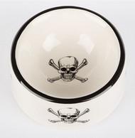 Skull & Crossbones Dog Bowl