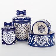 Mexican Bowl + Treat Jar Set
