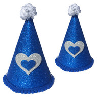 Deluxe Birthday Party Hat  | Blue