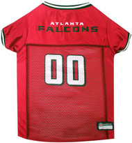 Atlanta Falcons Dog Jersey  - Black Trim