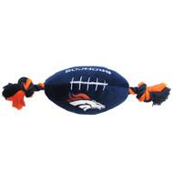 Denver Broncos Plush Dog Toy