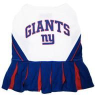 New York Giants Dog Cheerleader Dress
