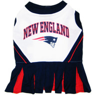 New England Patriots Dog Cheerleader Dress