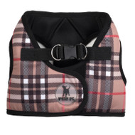 Sidekick Harness | Printed Tan Plaid