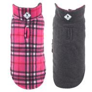 Fargo Fleece Reversible Jacket | Pink Plaid IV