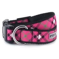 Bias Plaid Pink Dog Leash