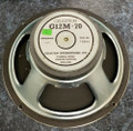 Vintage Celestion G12 M70 16 ohm Speaker (C) (As Is For Repair)