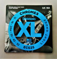 D'Addario EGC 25 Chromes Flat Wound Light Gauge Electric Guitar Strings