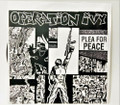 "Operation Ivy Plea For Peace 7"" White Label Record Rare Unofficial"