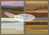 The Moving Water Collection. Nine 5 x 7 Greeting Cards with Envelopes, from four Dave Hall paintings.
