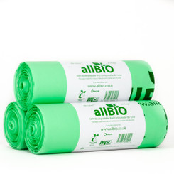 80 Litre Compostable Bin Liners / Sacks - 60 Liners