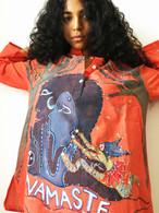 Shirts Cori Collection - Hand Dyed and Painted Kurta -  NAMASTE  Size - Men-S  Women S/M