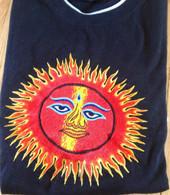 Tee Shirts - Black SUN - L/XL