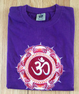 Tee Shirts  - Purple AUM - M/L - Free with $90 Purchase