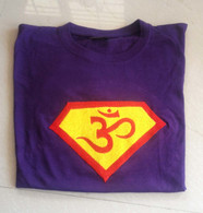 Tee Shirts - Purple Ganesha - M/L