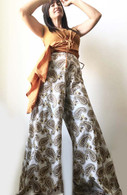All New Bell Bottoms - Palazzo Wide Leg Pant - Paisley - M/L/XL
