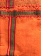 ALL NEW UNISEX Indian Wrap Yoga Pants - Orange Ethnic
