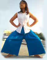 ALL NEW Cotton Culottes - Very Blue - One Size