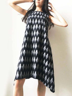 All New Black Ikat Tunic/ Dress  S/M & M/L