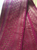 Headband / Belt Wide Sari Border - RED - FREE with $40 ORDER!