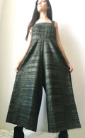 Jumpsuit - Forest Green - Khadi Cotton  XS/S/M