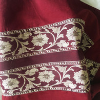 XS Burgundy Skirt - Size XS