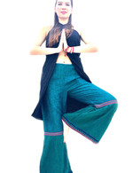 ALL NEW Rocket Pants - Bell Bottoms - Green M/L