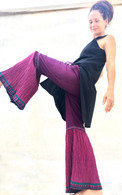 ALL NEW Rocket Pants - Crushed Bell Bottoms - Purple