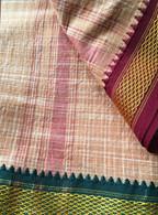 NEW UNISEX INDIAN WRAP YOGA PANTS - Tan Checks - M