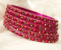 Indian Bangles - Pink - Free with $20 purchase!