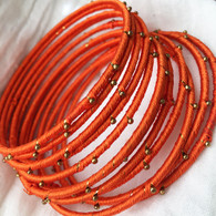 Indian Bangles - Orange - Free with $20 purchase!