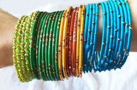Indian Bangles - Blue - Free with $20 purchase!